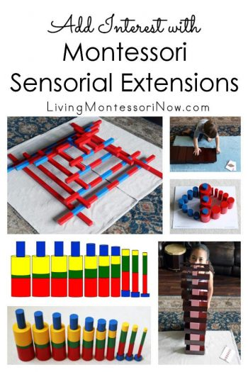 Add Interest with Montessori Sensorial Extensions