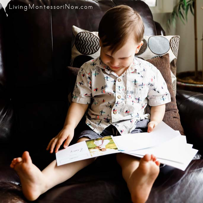 Having Fun with His Family Book