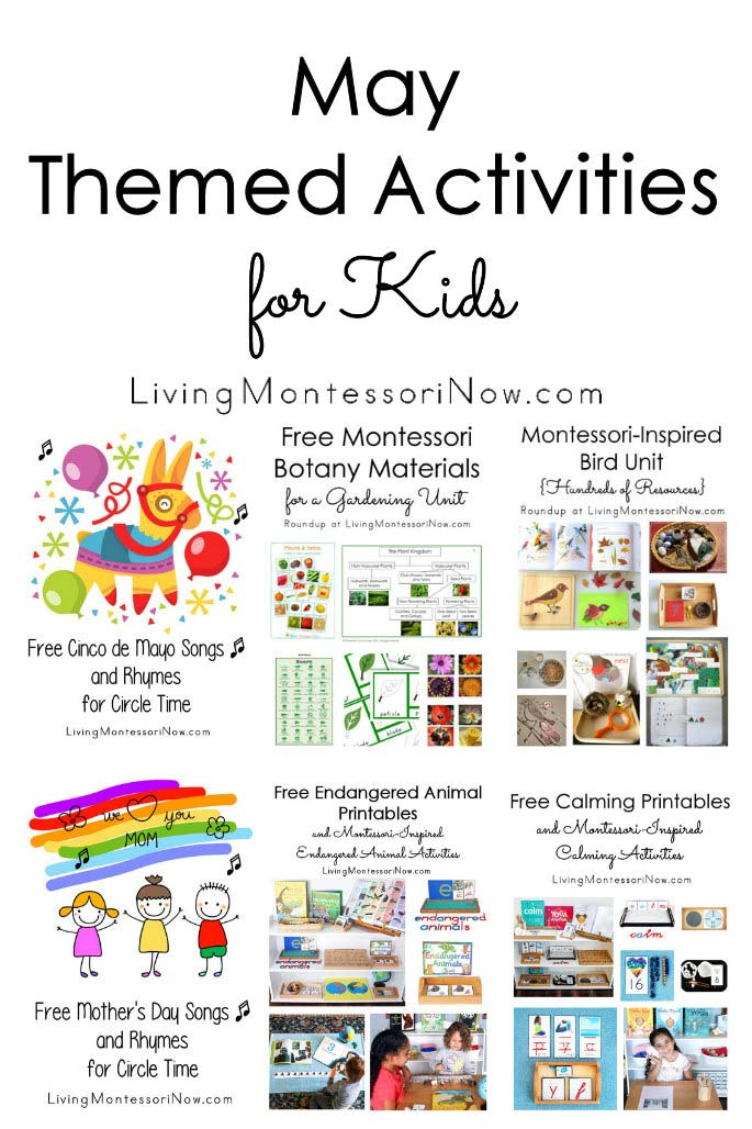 May Themed Activities for Kids