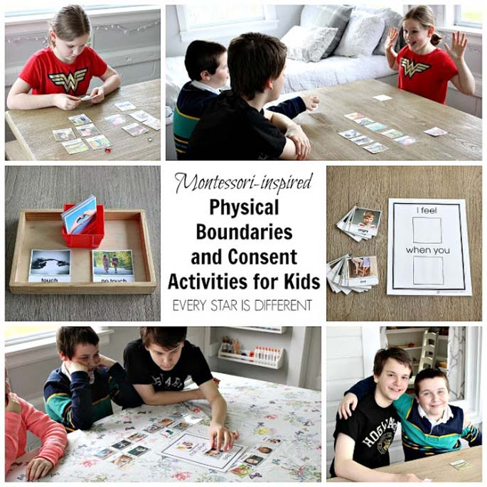 Montessori-Inspired Physical Boundaries and Consent Activities for Kids from Every Star Is Different