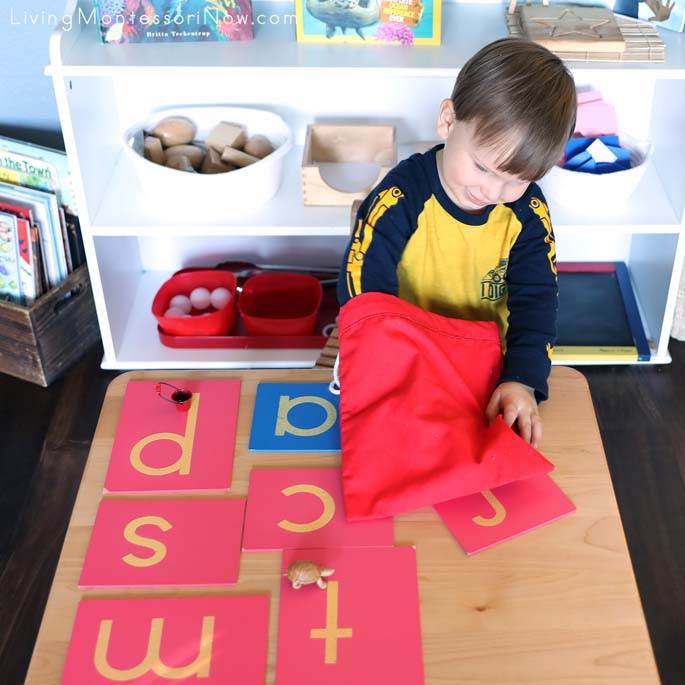 Having Fun with Phonetic Objects Mystery Bag