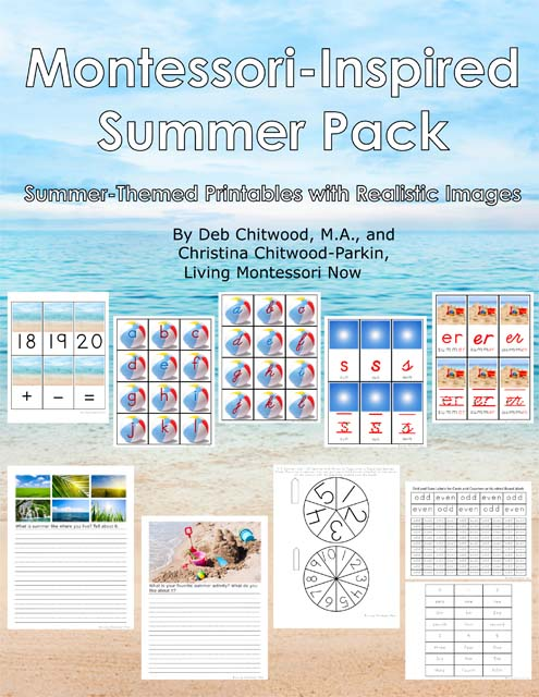 Montessori-Inspired Summer Pack