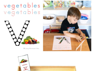 FREE Vegetables Do-a-Dot Phonics Printable (Montessori-Inspired Instant Download)
