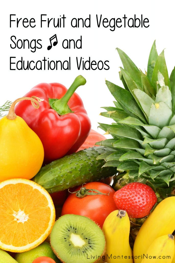 Free Fruit and Vegetable Songs and Educational Videos