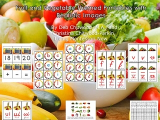 Montessori-Inspired Fruit and Vegetable Pack