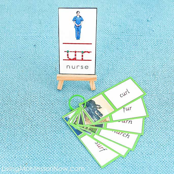 UR Nurse Phonogram Card with UR Phonogram Booklet