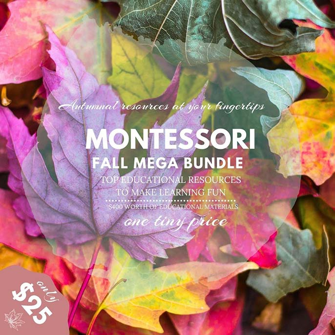 Montessori FallMega Bundle at 95% Off Through September 20!