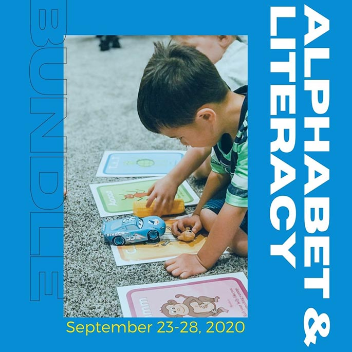 The Ultimate Alphabet and Literacy Bundle only $19 for $475 worth through Sept. 28
