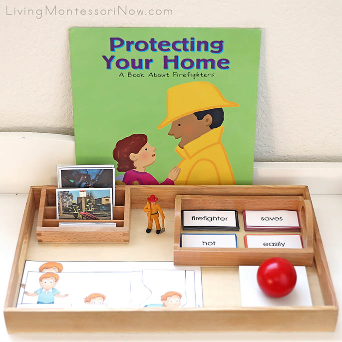 Protecting Your Home Book with Fire Safety Nomenclature Cards, Stop, Drop and Roll Activity, and Fire Safety Grammar Materials