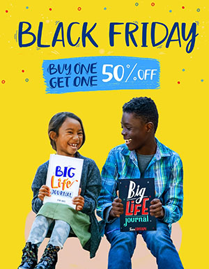 Big Life Journal Black Friday Sale - Buy One Get One 50% Off!