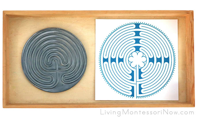 Finger Labyrinth with Free Printable Finger Labyrinth