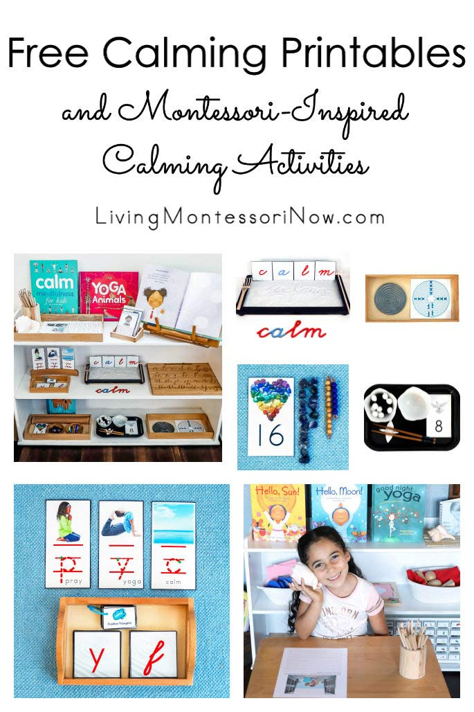 Free Calming Printables and Montessori-Inspired Calming Activities