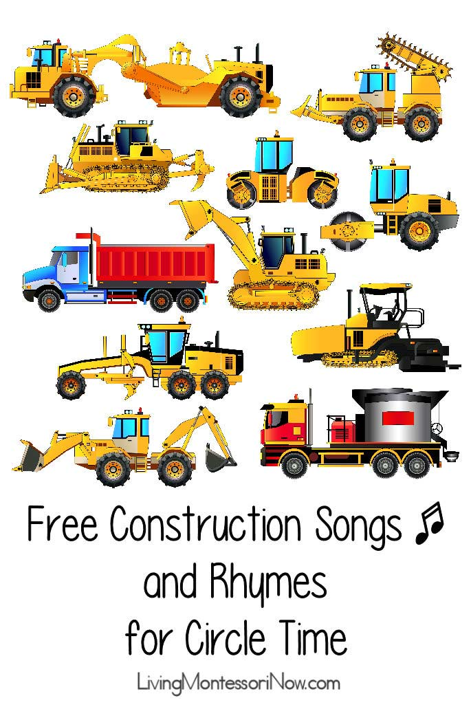 Free Construction Songs and Rhymes for Circle Time