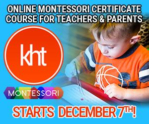 KHT Montessori December 7 Online Course