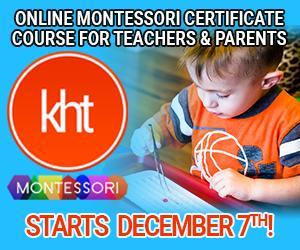 KHT Montessori December 7 Online Course