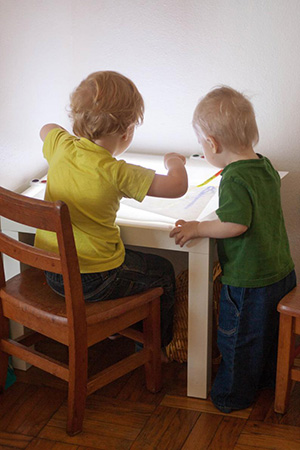 Small Light Table from readysetplay at Etsy