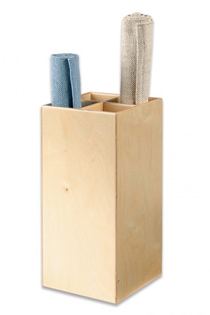Wooden Rug Holder from Montessori Services