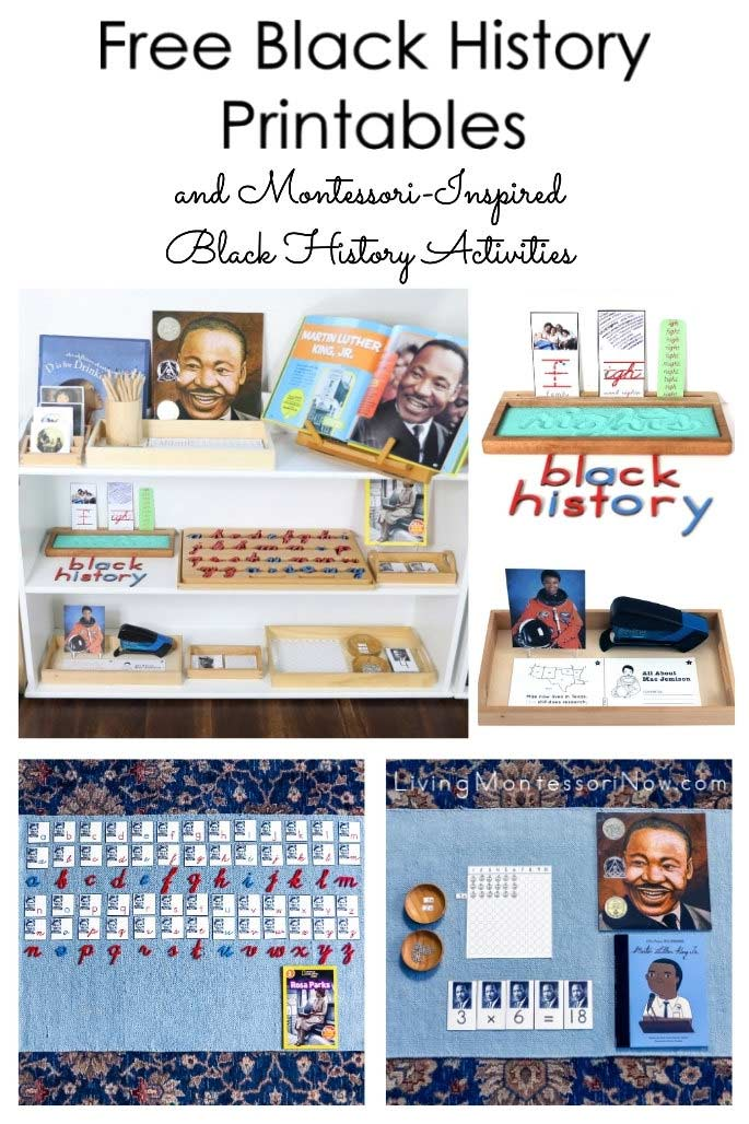 Free Black History Printables and Montessori-Inspired Black History Activities