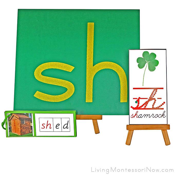 Sh for Shamrock Phonogram Work