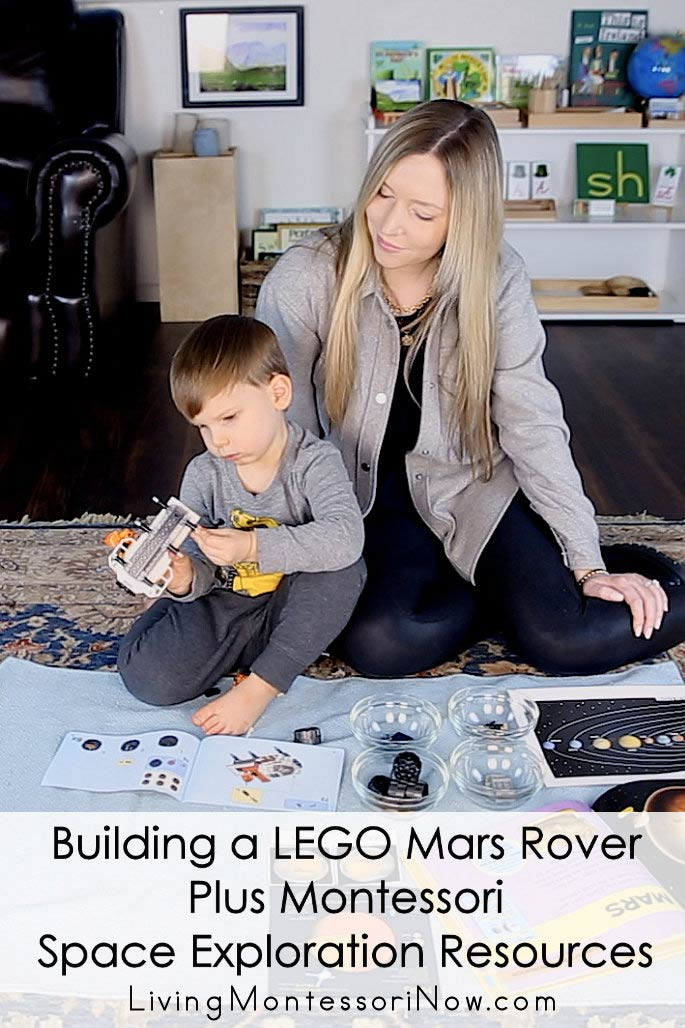 Building a LEGO Mars Rover Plus Montessori Space Exploration Resources