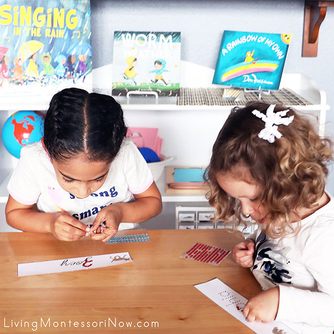 Designing Their Name Signs
