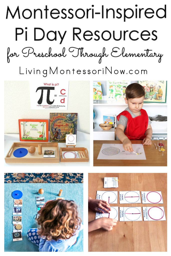 Montessori-Inspired Pi Day Resources for Preschool Through Elementary