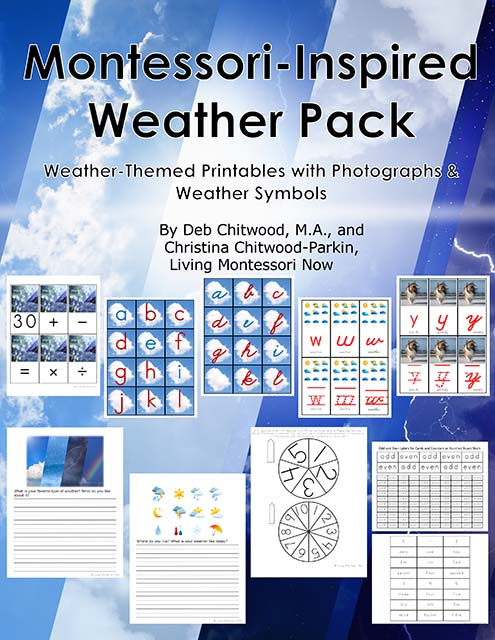 Montessori-Inspired Weather Pack