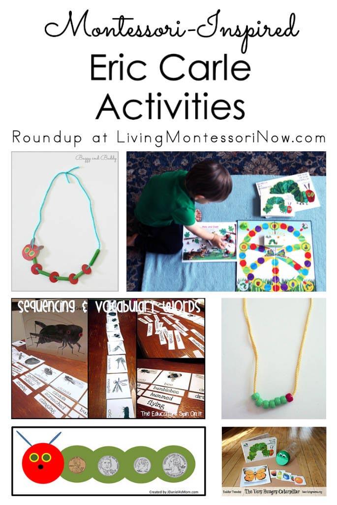 Montessori-Inspired Eric Carle Activities