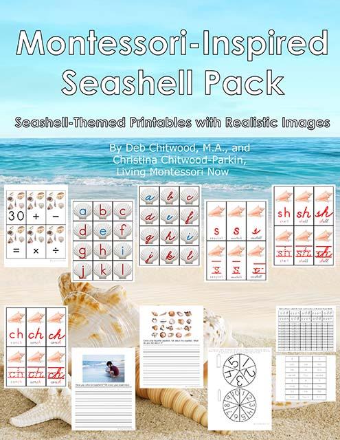Montessori-Inspired Seashell Pack