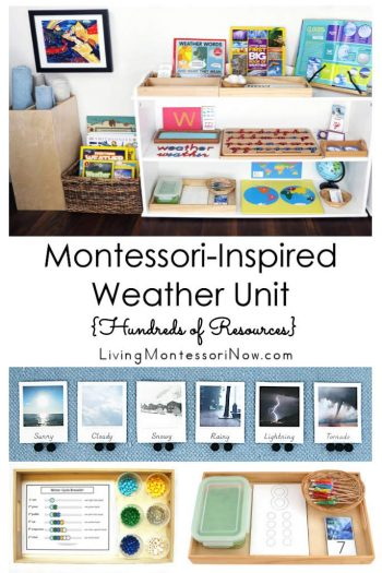 Montessori-Inspired Weather Unit {Hundreds of Resources}