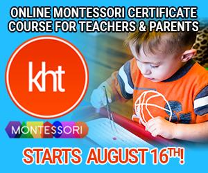 KHT Montessori August 16 Online Course