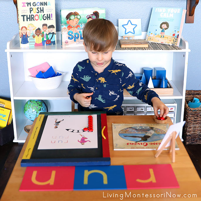Magnet Work with R for Run Do-a-Dot Phonics Printable