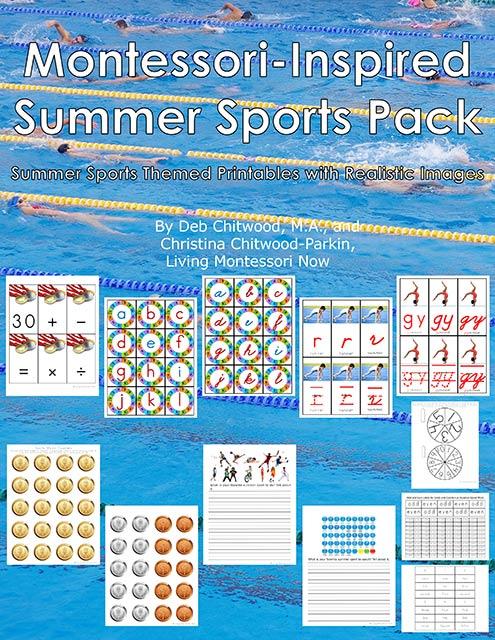 Montessori-Inspired Summer Sports Pack