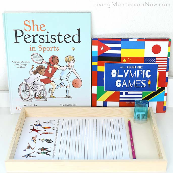 She Persisted in Sports, All About the Olympic Games, and Summer Sports Creative Writing