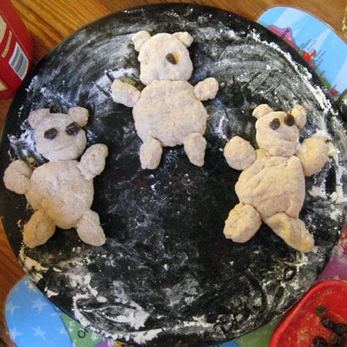 Teddy Bear Bread from Chasing Cheerios