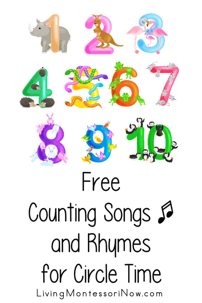 Free Counting Songs and Rhymes for Circle Time