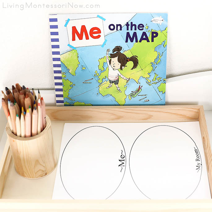 Me on the Map Book with Me on the Map Activity