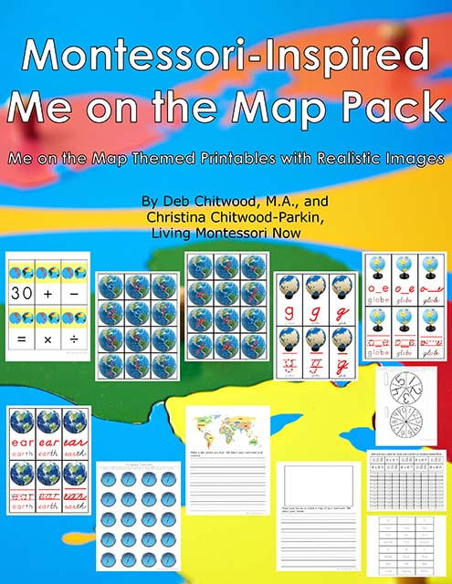 Montessori-Inspired Me on the Map Pack