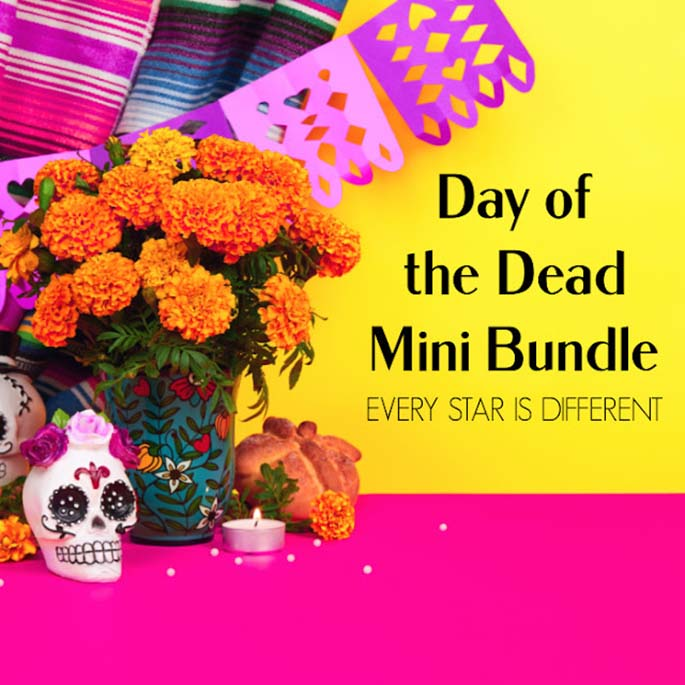 Day of the Dead Mini Bundle from Every Star Is Different
