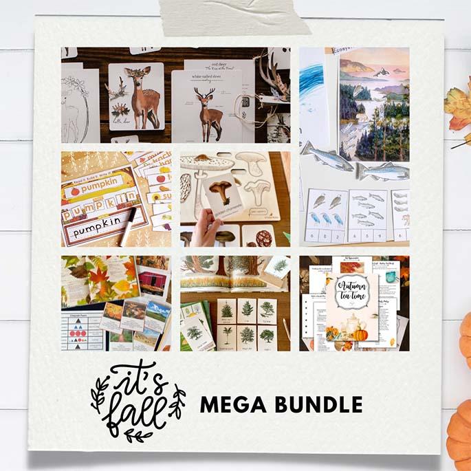 Fall Mega Bundle 95% Off - $25 through September 29!!!