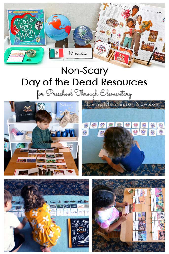 Non-Scary Day of the Dead Resources for Preschool Through Elementary